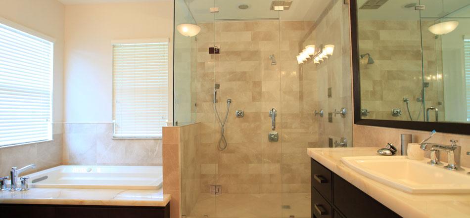 Custom Shower Glass Doors Nassau County & Suffolk County